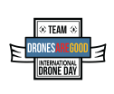 drones are good logo